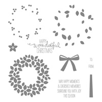 Wondrous Wreath by Stampin Up