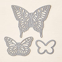 Butterfly Thinlits Dies by Stampin Up