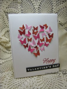 Butterfly Valentine by Betty Keefe