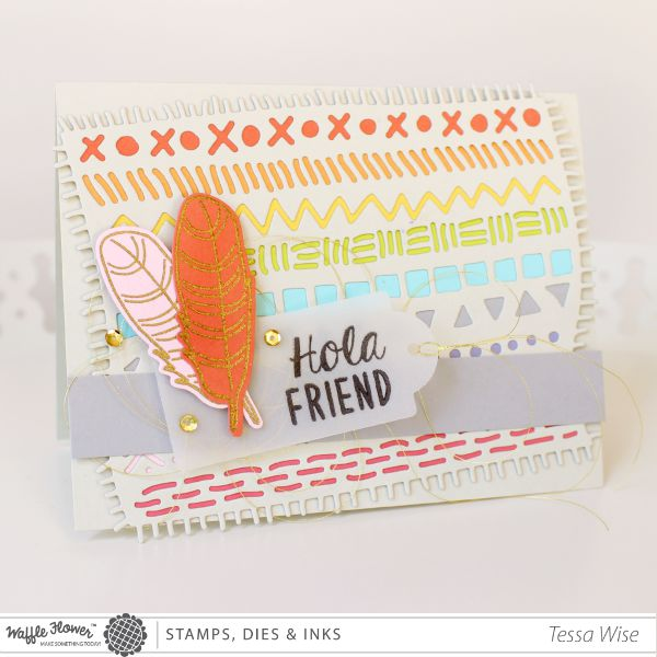 Hola Friend Card