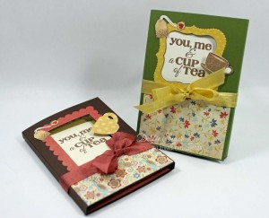 Teabag Holder Cards by Debbie Seyer