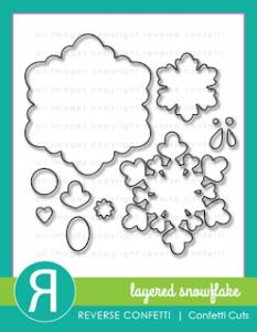 Layered Snowflake Die