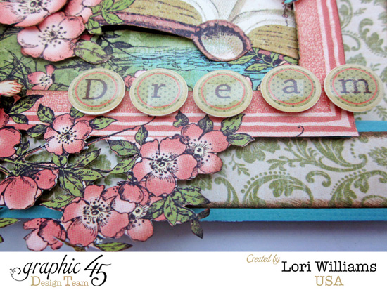 Lori Williams Designing for Graphic 45 Once Upon a Springtime Folding Card photo 3